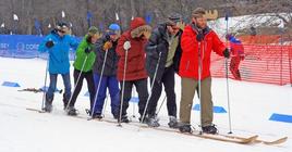 Pearson's 2016 Crew Ski Loppet banner