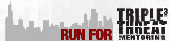 2016 Bank of America Chicago Marathon Fundraising Team banner