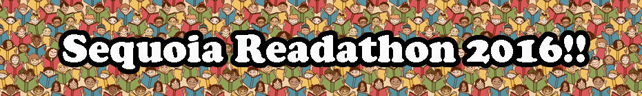Sequoia Elementary Readathon 2016 banner