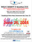 Walk 4 Dignity banner