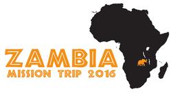 707 Zambia Mission Trip 2016 banner