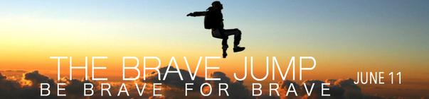 #TheBraveJump banner