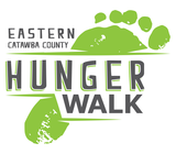 Eastern Catawba County Hunger Walk banner