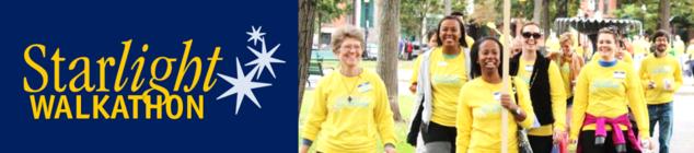 Starlight Ministries 2016 Walkathon banner