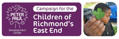 Campaign for the Children of Richmond's East End banner