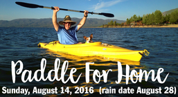 Paddle for Home! banner