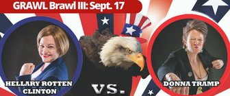 GRAWL Brawl III: Battle for the Ballot banner