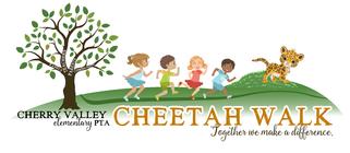 Cheetah Walk 2016 banner