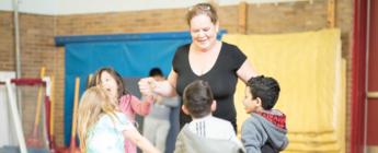 Peterson Kindergarten Dance-a-thon Team 2016 banner