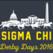 GW Sigma Chi Brothers Get Derby 2016