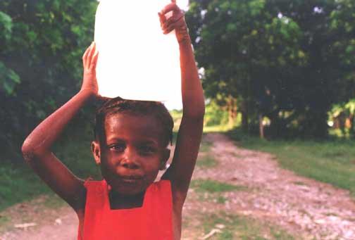 Size 550x415 haiti water girl