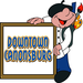 """Our Logo for """"Downtown Canonsburg"""" used on our website, facebook fan page, twitter page, and other promotional material"""