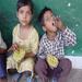 Akshaya Patra beneficiaries enjoy mid day meal