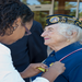 Marie Halter, MVMM Board Member & WWII Veteran (US Navy WAVES). Photo courtesy of College of Southern Maryland.
