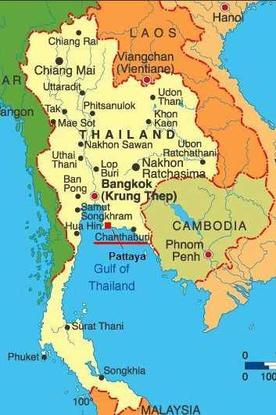 Size 550x415 thailand map