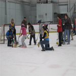 Size 150x150 broomball