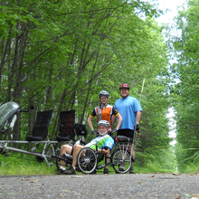 Cycling to provide support for Habitat accross Minnesota