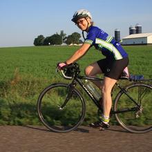 Habitat 500, Ruth Lunde, rider #2 for 2014