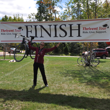 Amy Heinen fundraising for 2014 Thrivent Tour