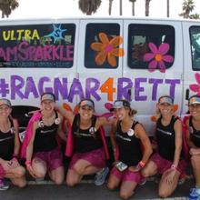 Ultra Team Sparkle runs #Ragnar4Rett