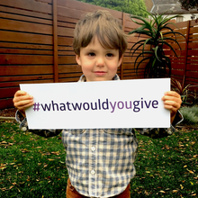 Jack Culos fundraising for #WHATWOULDYOUGIVE