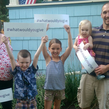 The Gallagher Family fundraising for #WHATWOULDYOUGIVE